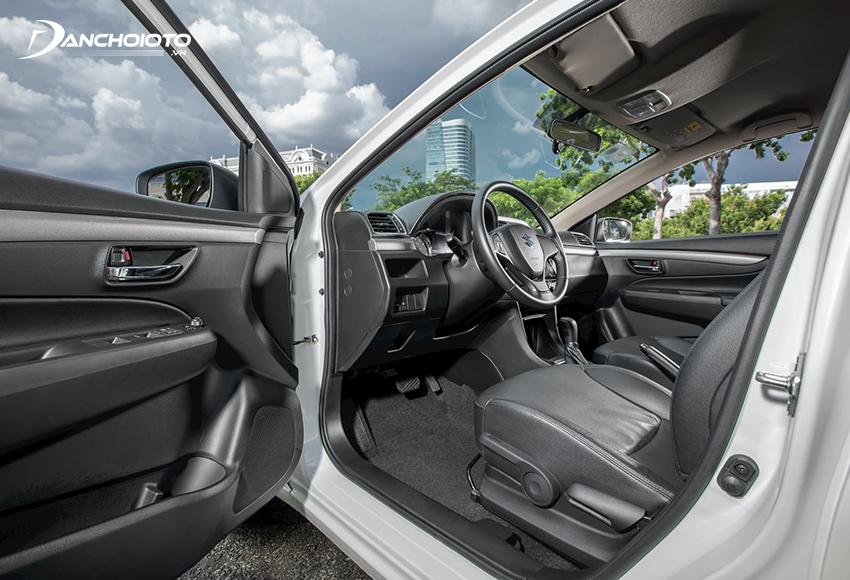 Suzuki Ciaz 2021 được đánh giá rất cao khi sở hữu không gian cực kỳ rộng rãi