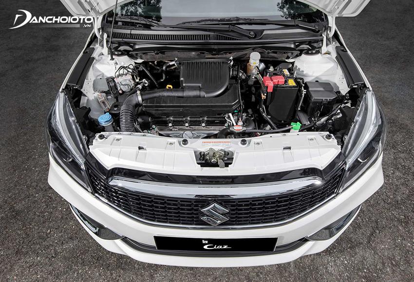 Suzuki Ciaz 2021 trang bị động cơ xăng 1.4L như cũ