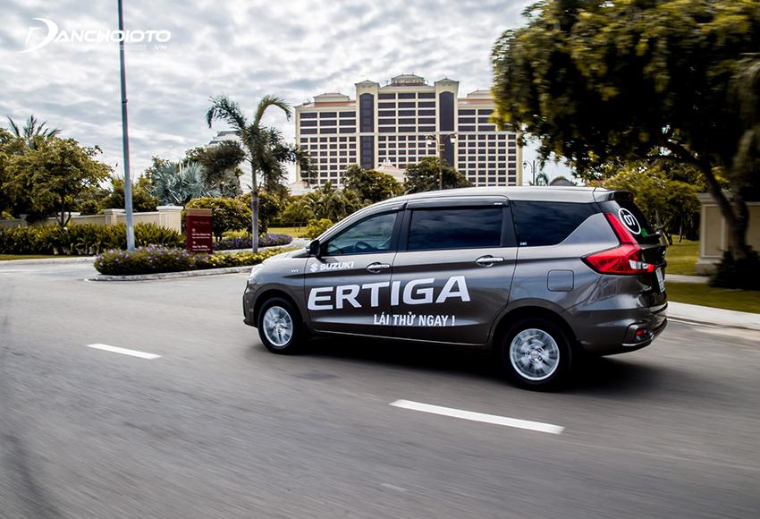 Suzuki Ertiga có khả năng cách âm rất tốt so với tầm giá