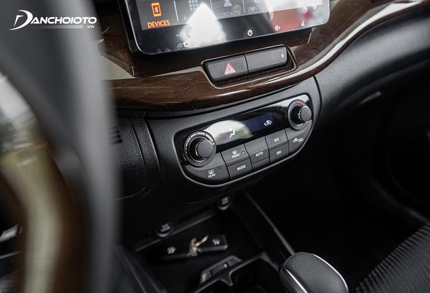 Suzuki Ertiga có ở dạng điện tử có màn hình hiển thị hiện đại