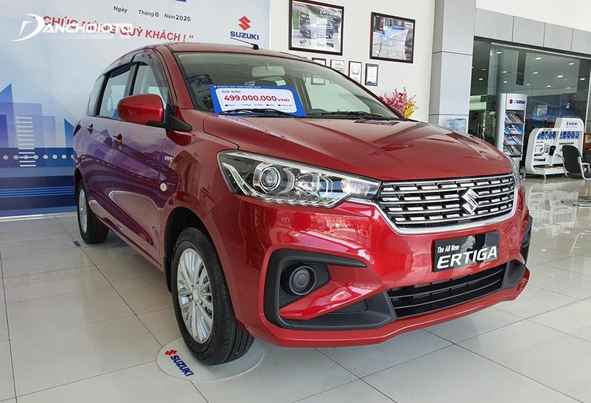 Suzuki Ertiga MT được đánh giá hiện là một trong những bản xe kinh tế nhất rất hợp với người mua xe chạy dịch vụ