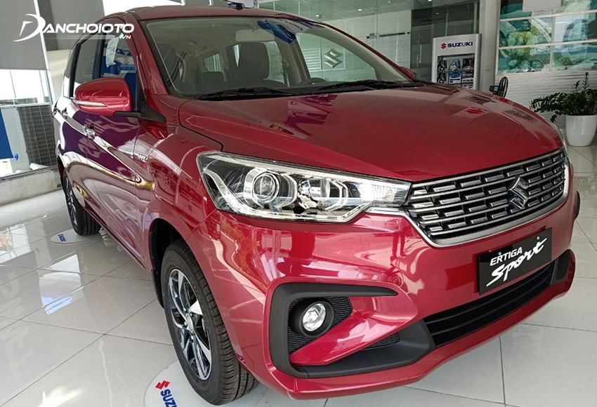 Suzuki Ertiga Sport là phiên bản đáng mua nhất