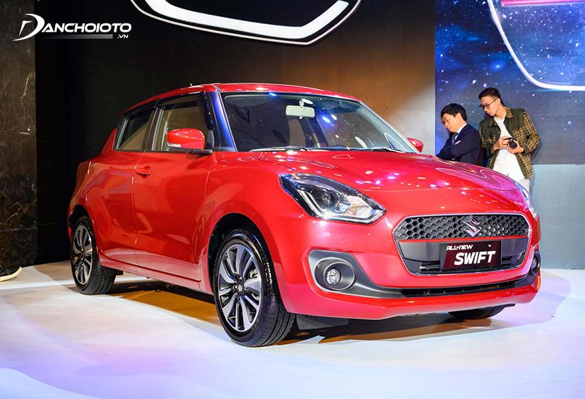Suzuki Swift 2021 sở hữu thiết kế trẻ trung, cá tính, mang đậm phong cách châu Âu