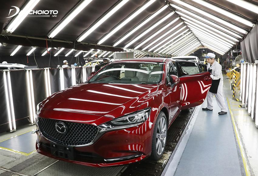 Thương hiệu Mazda đến từ Nhật Bản