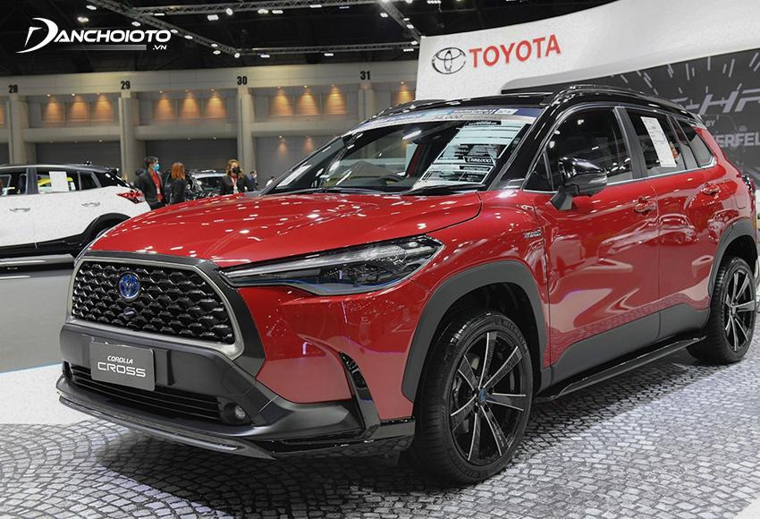 Toyota Corolla Cross là một mẫu xe SUV hạng B giá rẻ