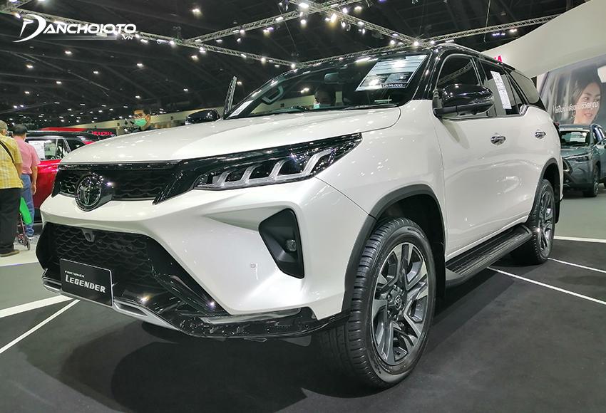 Toyota Fortuner là một mẫu SUV 7 chỗ hạng trung