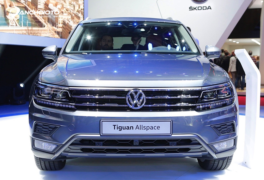 Volkswagen Tiguan Allspace là một mẫu SUV 7 chỗ hạng trung