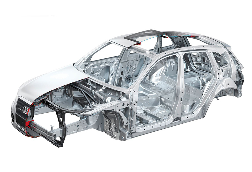 Xe CUV có kết cấu khung thân liền unibody