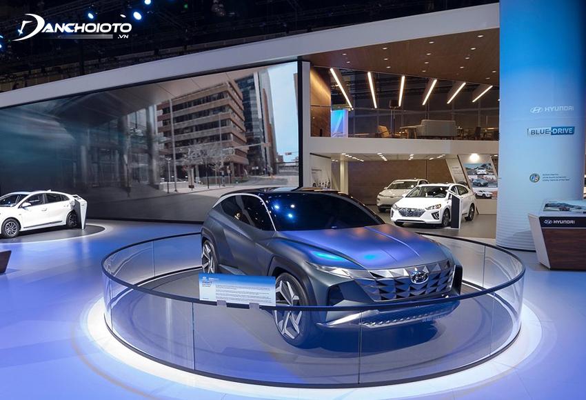 Xe Hàn thường xuyên bổ sung công nghệ mới và nâng cấp mạnh về thiết kế