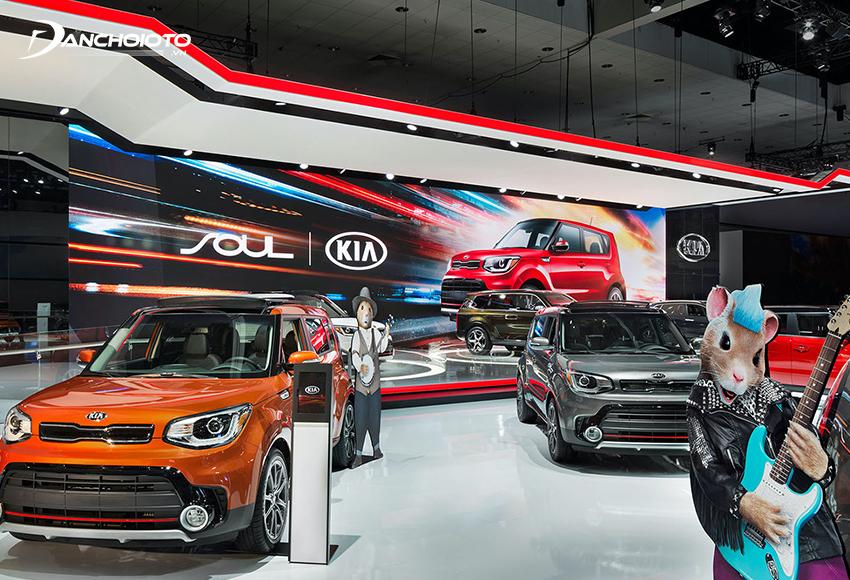 Xe ô tô Kia hấp dẫn với mức giá bán thấp trong thiết thiết kế và trang bị đều nổi bật