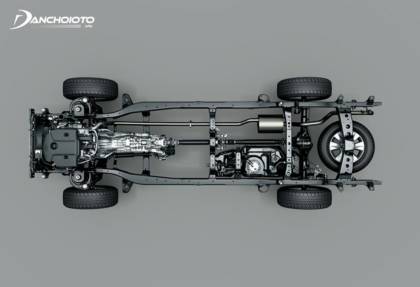 Xe SUV có kết cấu khung thân rời body-on-frame