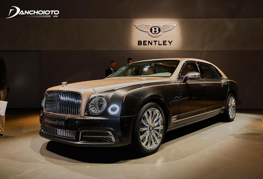 Bentley Mulsanne là một mẫu xe sedan siêu sang cao cấp nhất của hãng Bentley