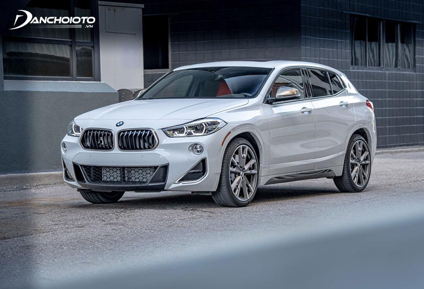 BMW X2 cũng là một dòng xe sang gầm cao cỡ nhỏ
