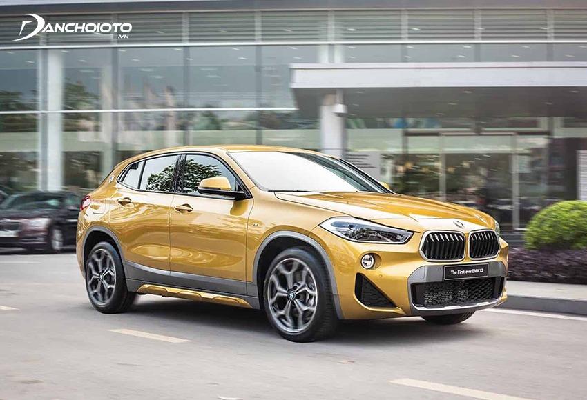 BMW X2 là mẫu xe crossover lai coupe thuộc phân khúc 5 chỗ gầm cao cỡ nhỏ