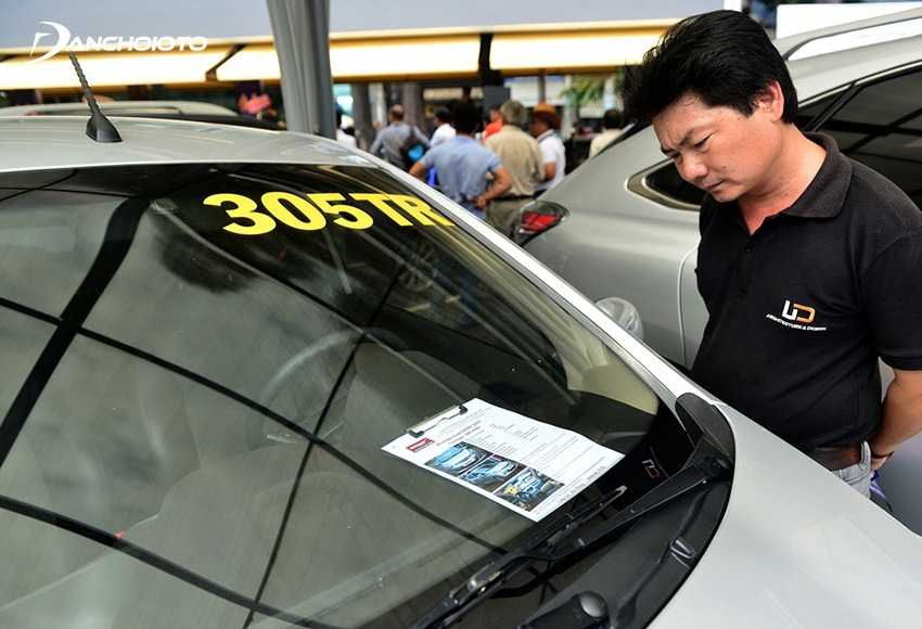 Cần tìm hiểu, nắm kỹ thông tin xe trước khi thương lượng giá