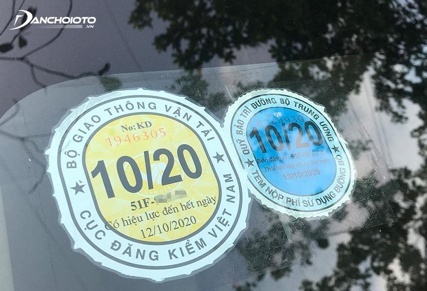 Có thể nộp lệ phí bảo trì đường bộ khi đăng kiểm ô tô