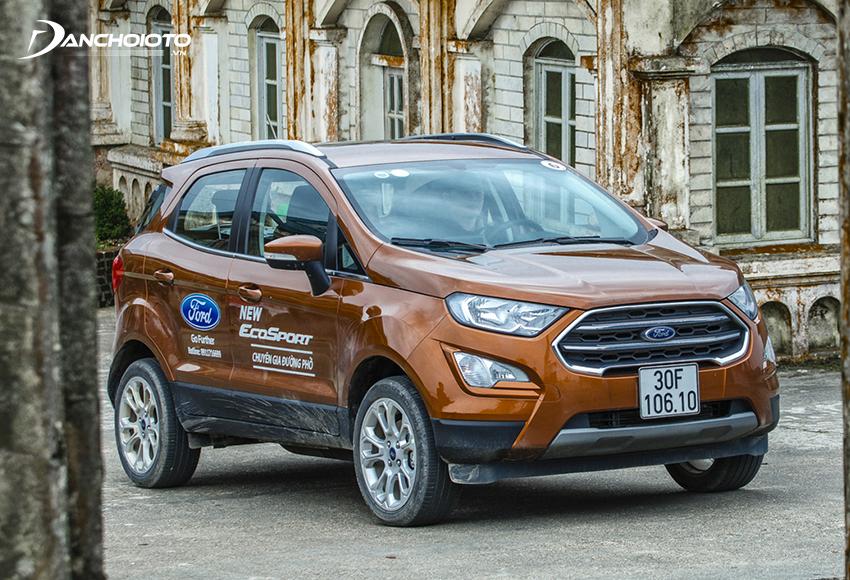 Ford EcoSport là xe 5 chỗ gầm cao giá rẻ có mặt đầu tiên ở thị trường Việt Nam