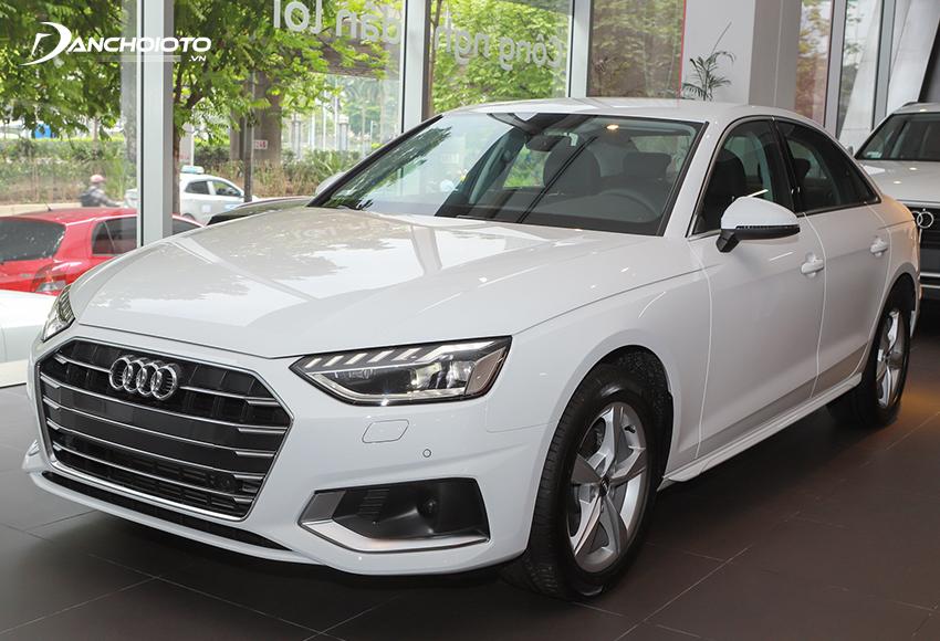 Giá xe 4 chỗ cỡ nhỏ Audi A4 từ 1,8 tỷ đồng