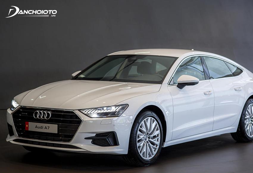 Giá xe 5 chỗ Audi A7 sportback từ 2,2 tỷ đồng