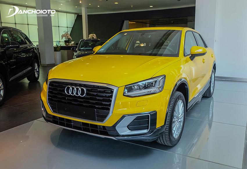 Giá xe 5 chỗ gầm cao Audi Q2 từ 1,6 tỷ đồng