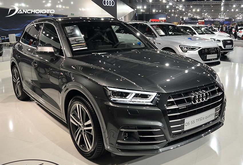 Giá xe 5 chỗ gầm cao cỡ trung Audi Q5 từ 2,5 tỷ đồng