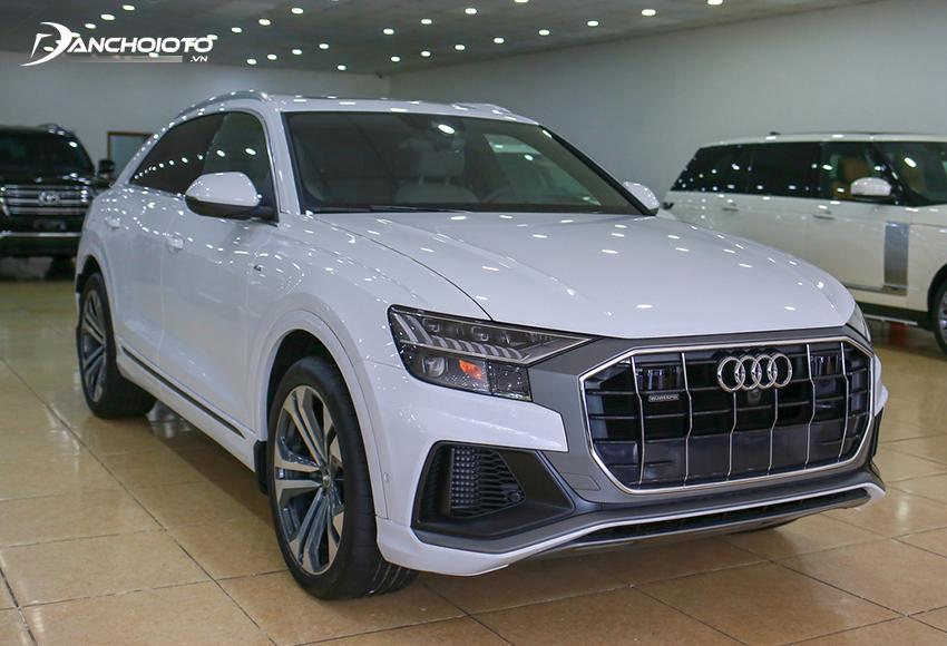 Giá xe 7 chỗ cỡ lớn Audi Q8 từ 4,5 tỷ đồng