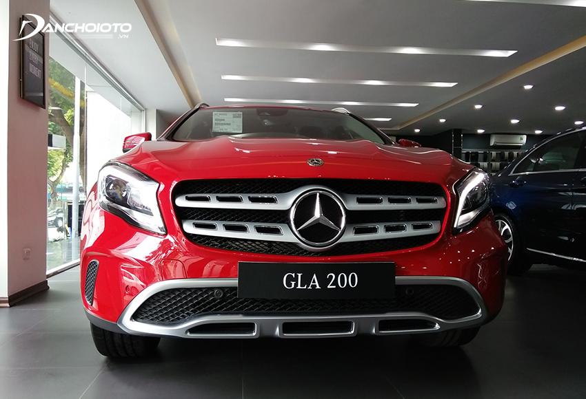 Giá xe Mercedes 5 chỗ gầm cao cỡ nhỏ GLA 200 từ 1,619 tỷ đồng