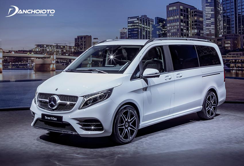 Giá xe Mercedes 7 – 9 chỗ V-Class từ 2,6 – 3,1 tỷ đồng