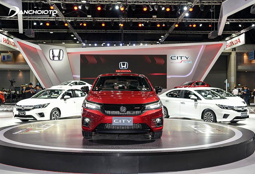 Honda City được định vị ở tầm cao trong phân khúc xe sedan hạng B