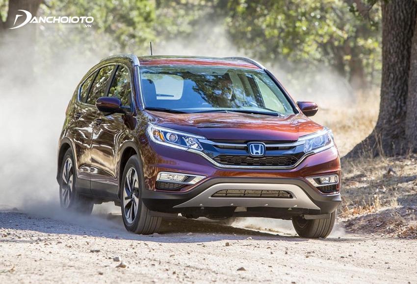 Honda CR-V là mẫu xe gầm cao được đánh giá cao về độ bền