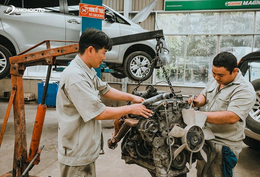 Không nên mua xe ô tô cũ từng trải qua sửa chữa lớn