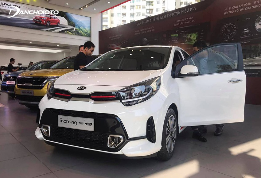 Kia Morning is appreciated for its youthful design and modern equipment