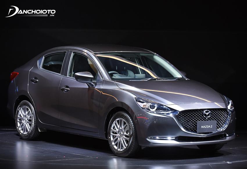 Mazda 2 là một mẫu xe sedan hạng B có thiết kế đẹp nhất phân khúc