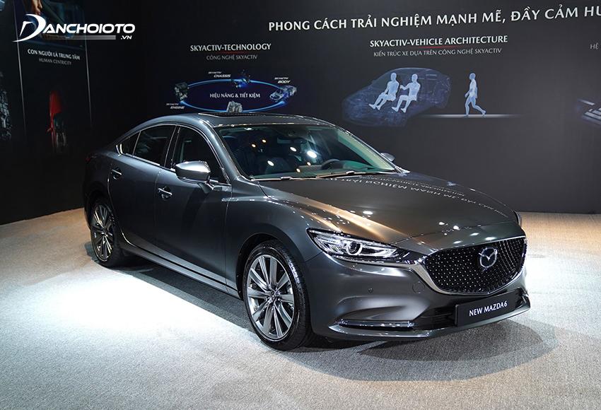 Mazda 6 là một trong những xe ô tô sedan hạng D có doanh số cao top đầu
