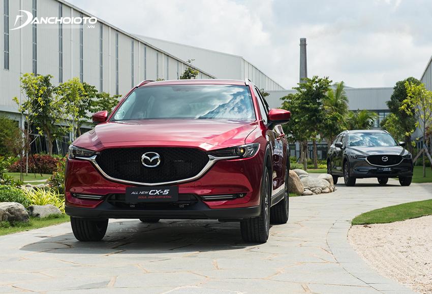 Mazda CX-5 là xe 5 chỗ gầm cao hạng trung bán chạy nhất hiện nay