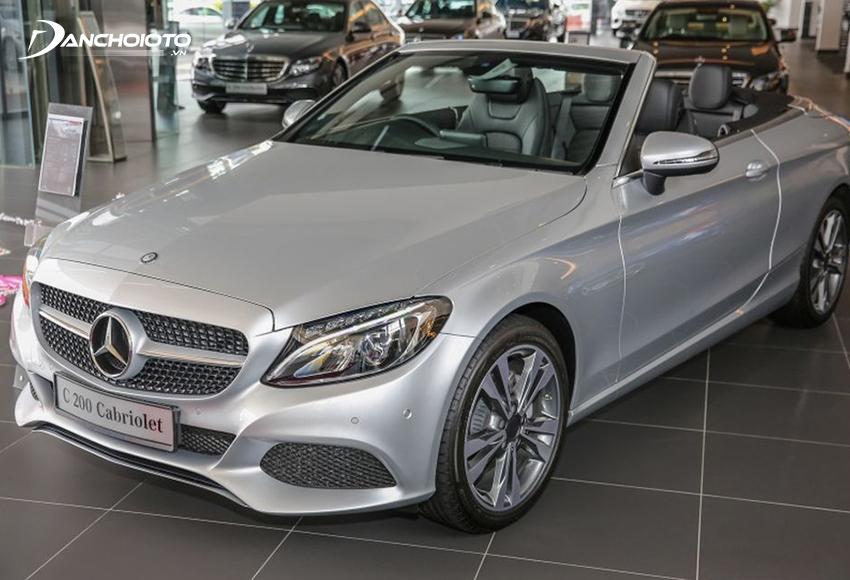 Mercedes mui trần C200 Cabriolet
