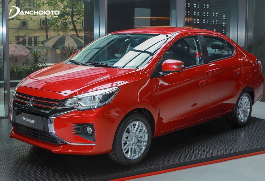 Mitsubishi Attrage là xe có giá bán rẻ nhất phân khúc