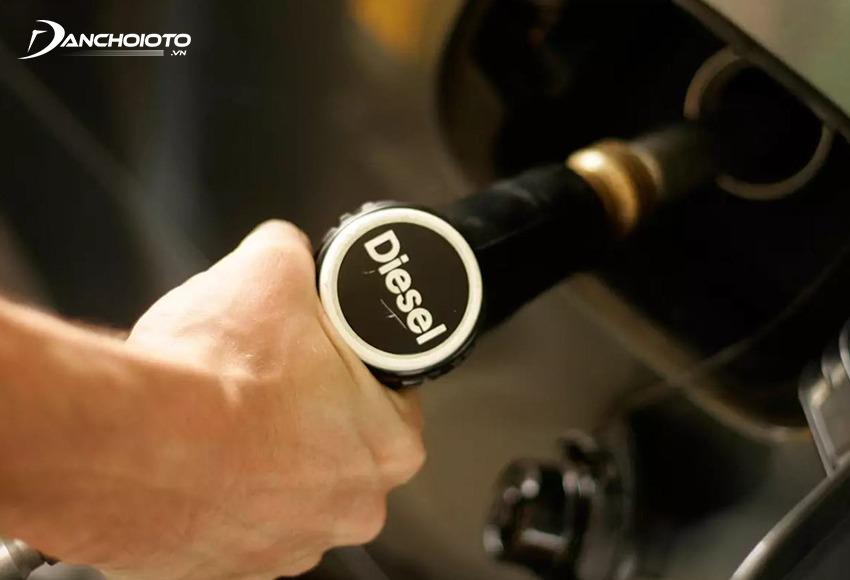 Mức tiêu thụ nhiên liệu của xe máy dầu cũ thấp hơn xe máy xăng