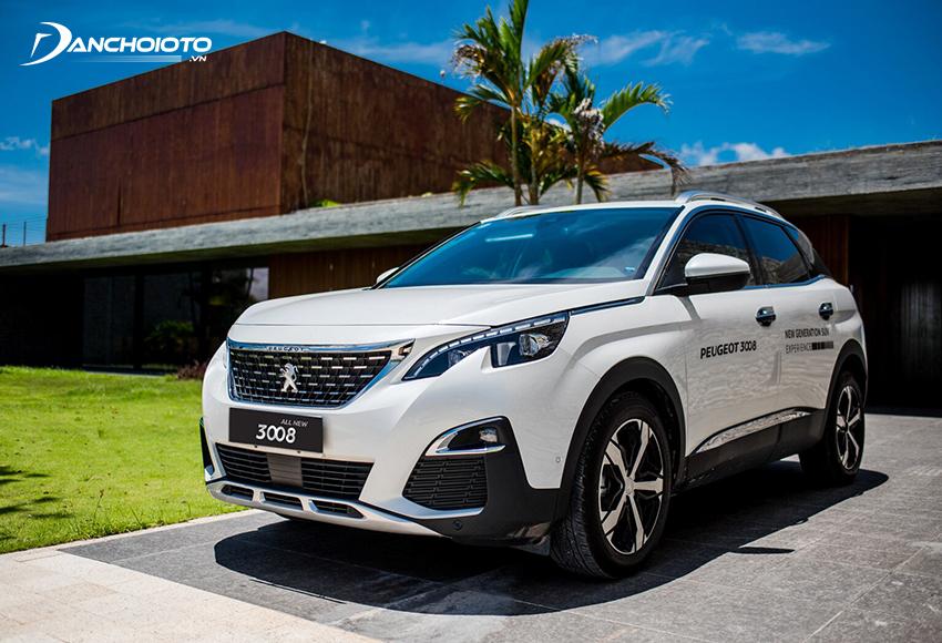 Peugeot 3008 là mẫu xe 5 chỗ gầm cao hạng trung hiếm có ở Việt Nam có xuất xứ từ châu Âu