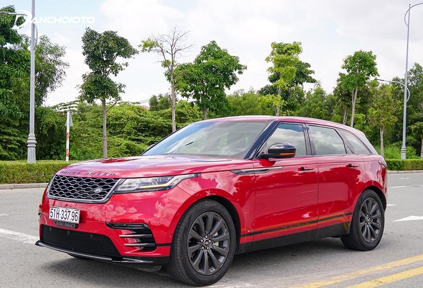 Range Rover Velar là một mẫu xe 5 chỗ gầm cao tầm trung