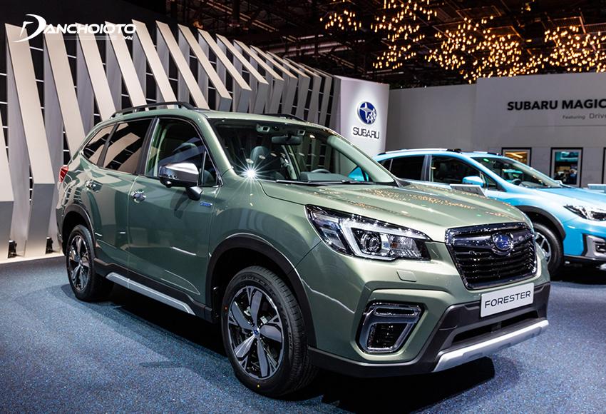 Subaru Forester là một mẫu SUV 5 chỗ cỡ nhỏ