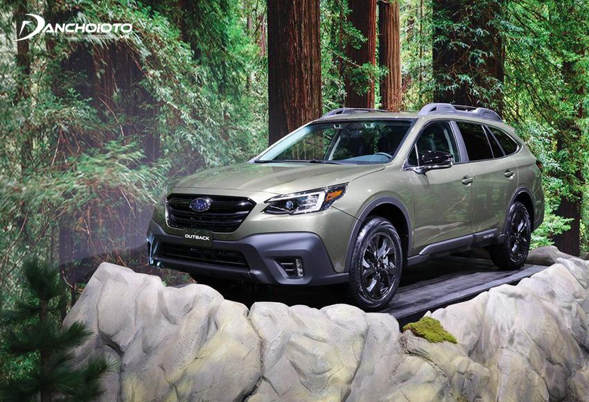 Subaru Outback là mẫu xe 5 chỗ gầm cao hạng trung có giá bán cao nhất phân khúc