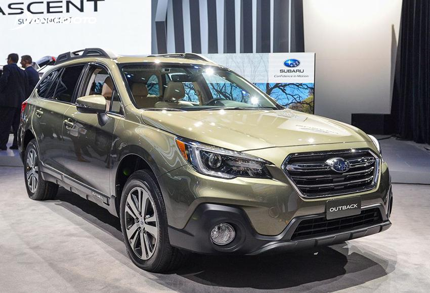The subaru outback is a 5 for the highest weight of the subaru
