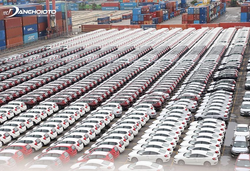 Thái Lan hiện là quốc gia có lượng xe nhập khẩu về Việt Nam nhiều nhất