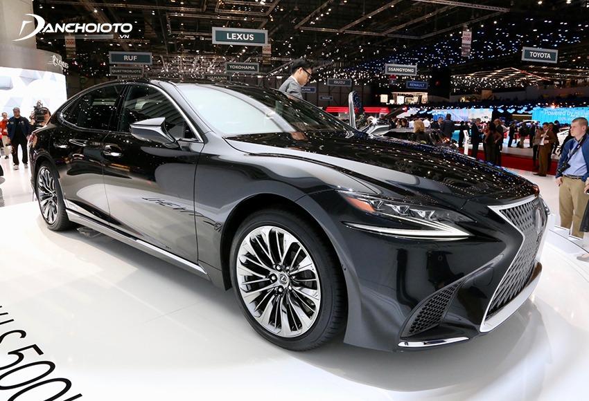 Thiết kế Lexus ngày càng ấn tượng hơn