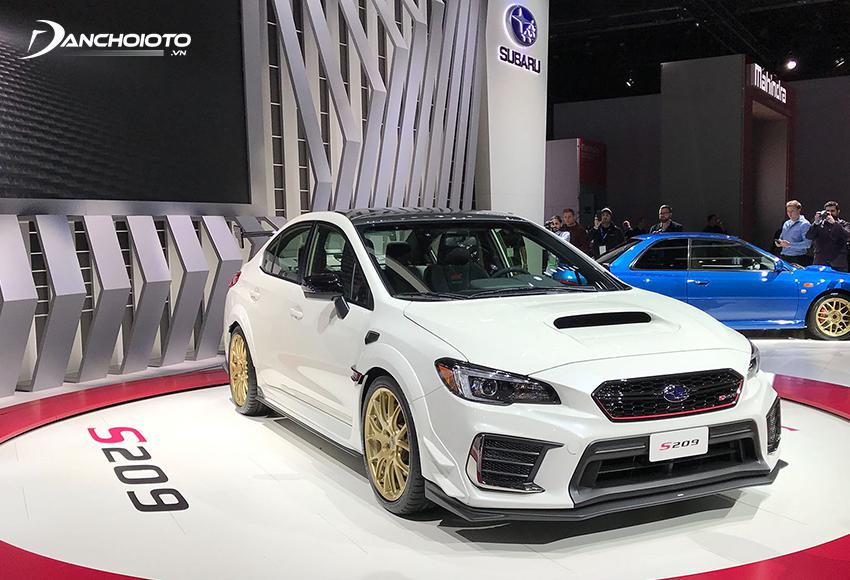 The subaru design doesn't have many features