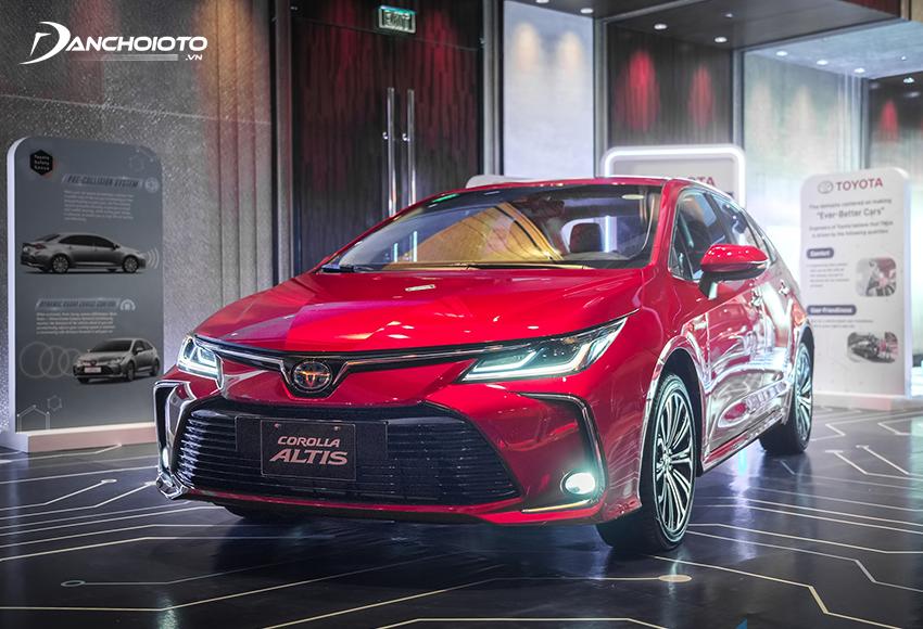 Toyota Corolla Altis từng là xe sedan hạng C thành công nhất của hãng Toyota