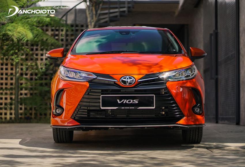Toyota Vios là xe sedan hạng B có doanh số bán cao nhất