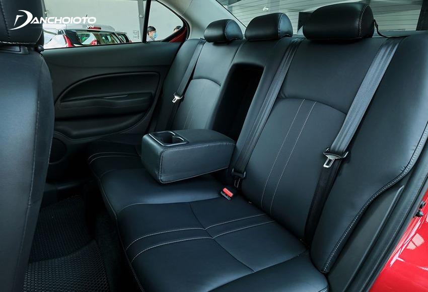 Xe chạy Grab có nội thất rộng sẽ giúp khách ngồi cảm thấy thoải mái hơn