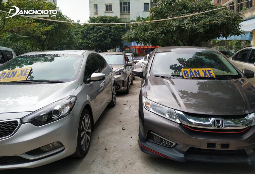 Xe ô tô cũ bị tai nạn sẽ thường có giá bán rất hấp dẫn